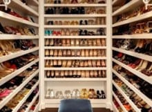 Armario de Zapatos que cualquier mujer quisiera tener