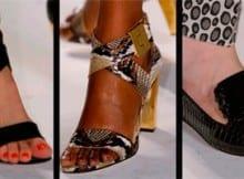 Los mejores Zapatos del New York Fashion Week. Primavera 2014