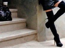 Botas arriba de la rodilla. Invierno 2013