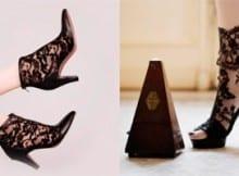 Zapatos de encaje. ¡Nueva tendencia!