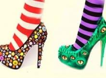 Zapatos de Halloween. Perfectos para tú disfraz.