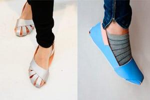 una forma de resolver el problema de calzado en el mundo