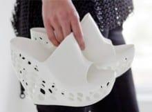 Zapatos impresos en 3D.
