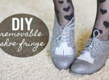 DIY: Crea tus zapatos originalmente. Algunas increíbles formas de revivir los zapatos que ya dabas por muertos.