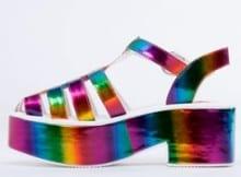Zapatos Arco Iris