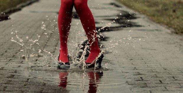 zapatos para lluvia
