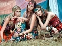 Revival Hippie style