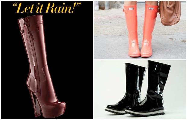 Lluvia de Glamour, Rainy Boots