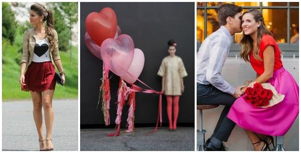 Outfits para San Valentín, celebra con amor y glamour