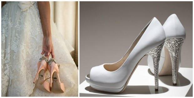 I do, opciones de zapatos de novia