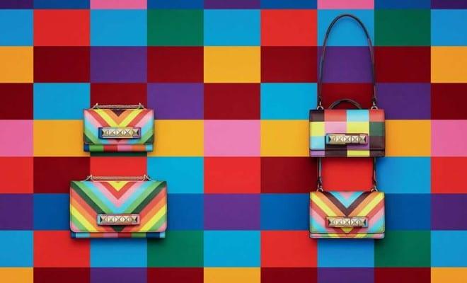 Un arcoíris de moda