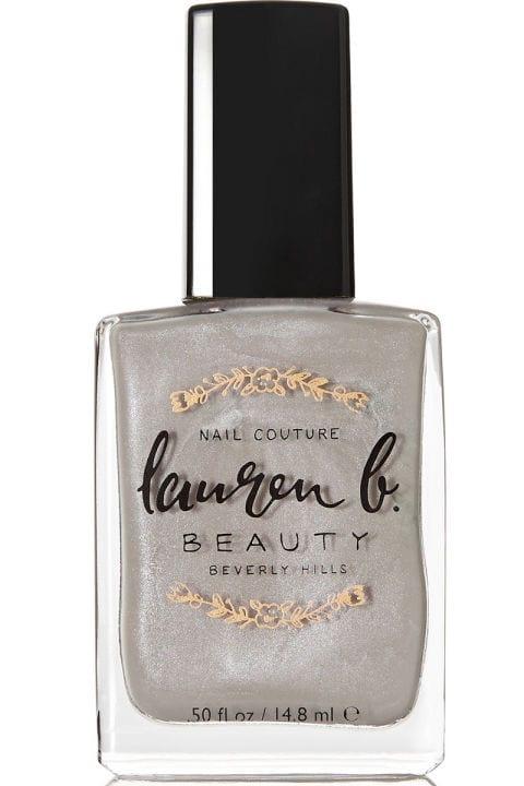 Lauren B. Beauty Nail Polish in Greystone Grey, $18, net-a-porter.com.