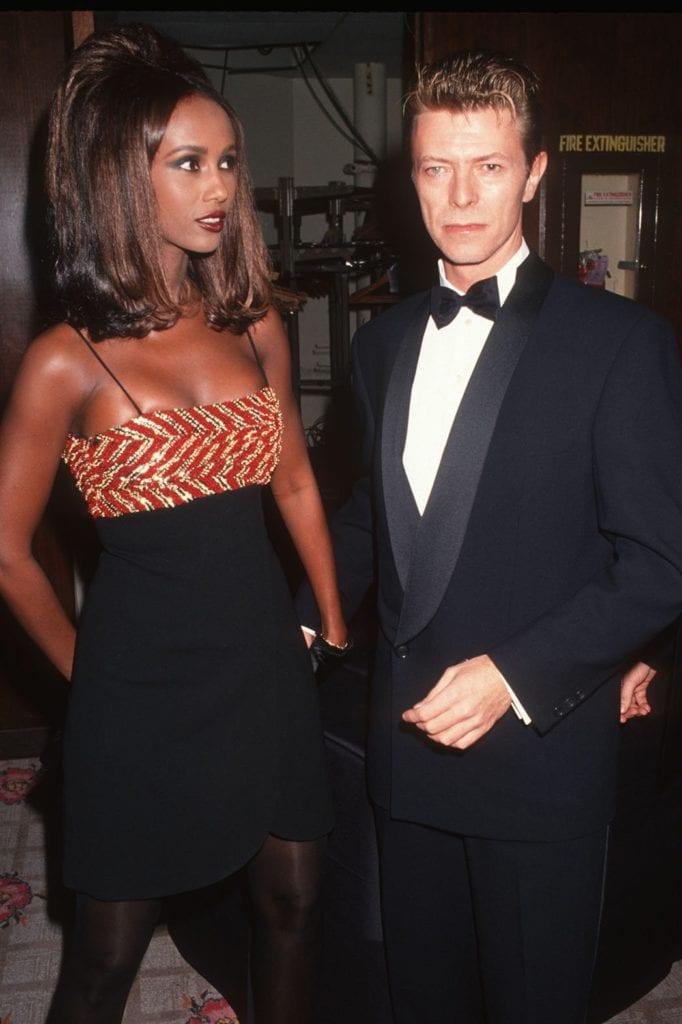 Iman & Bowie, 1991