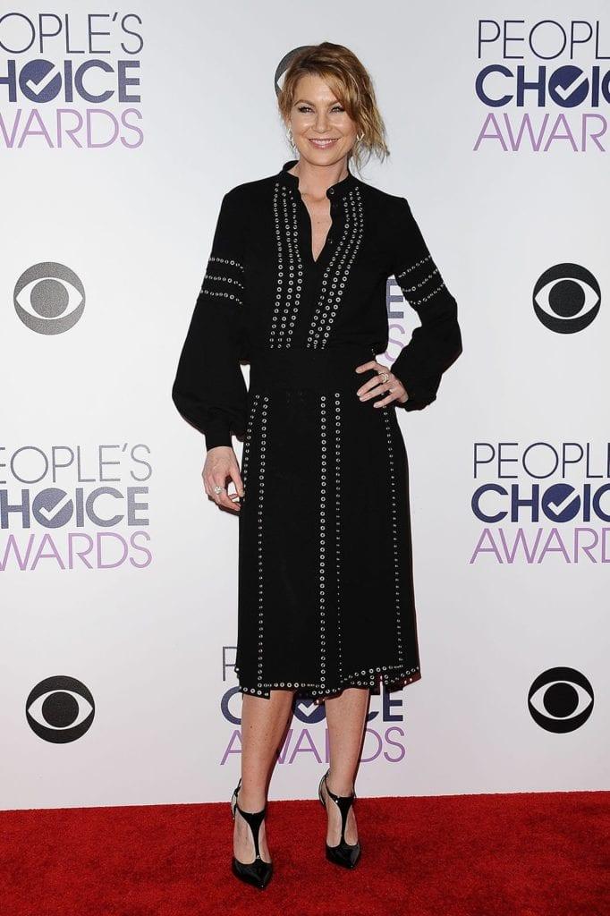 Ellen Pompeo  de Grey's Anatomy en Michael Kors.