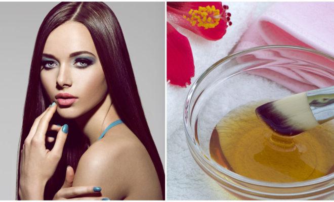 DIY Mascarilla reparadora para cabello lacio