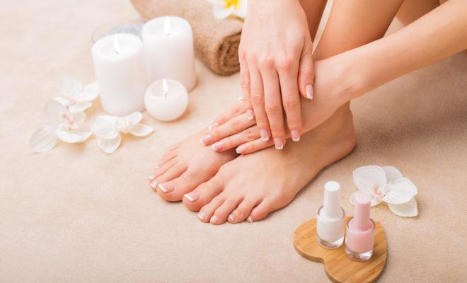 Mascarilla para renovar manos y pies