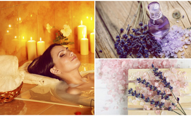 DIY Sales de baño para tener una piel más suave