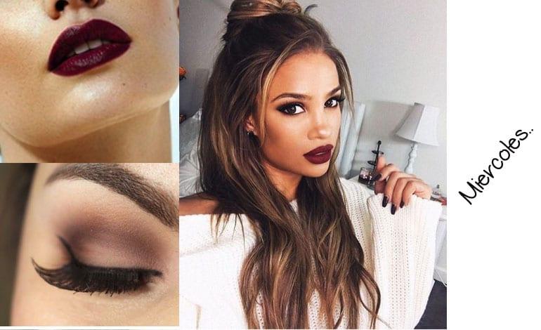 miercoles makeup