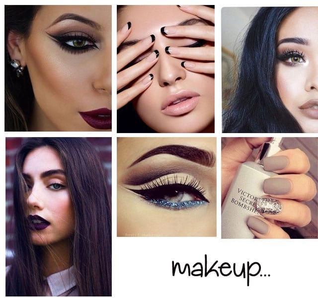 off shoulders makeup