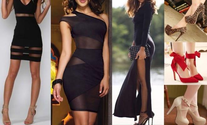 ¡¡Los vestidos negros más sexys!!