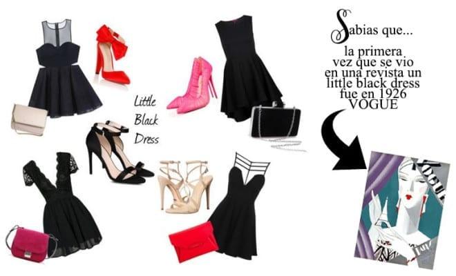 Little black dress para tu estilo.
