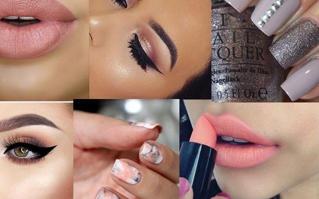 Makeup PERFECTO para look gris, ¡va bien con TODAS las pieles!