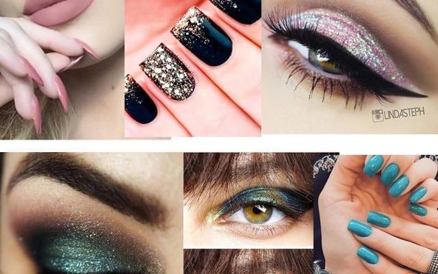 Make up turquesa, combina perfecto con ESTE vestido…