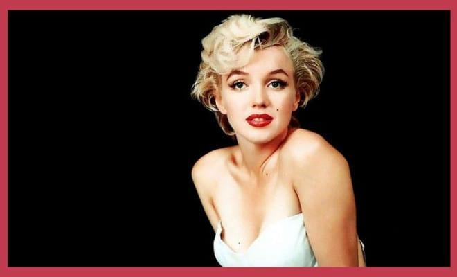 El secreto tras la belleza de Marilyn Monroe.