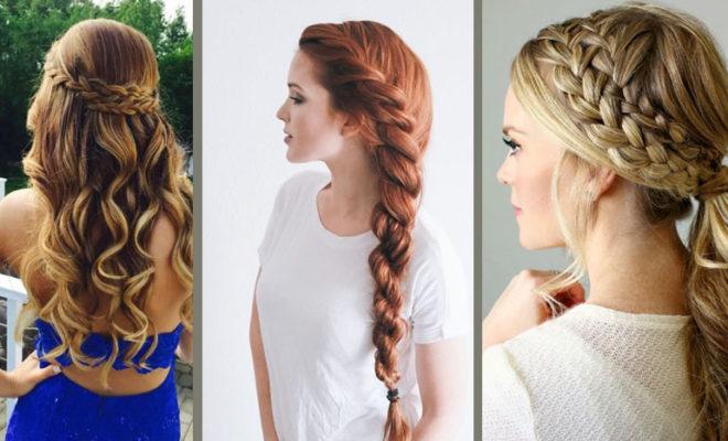7 Peinados que te puedes hacer sólo con trenzas