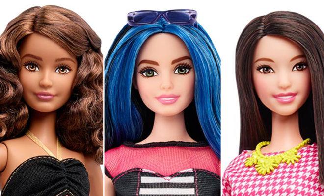 El nuevo cuerpo de barbie… ¡¡Adiós a la barbie flaca!!
