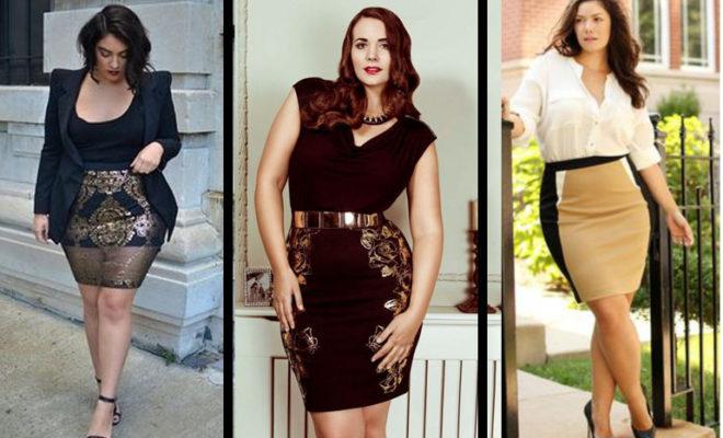 10 trendy looks para chicas curvilíneas.