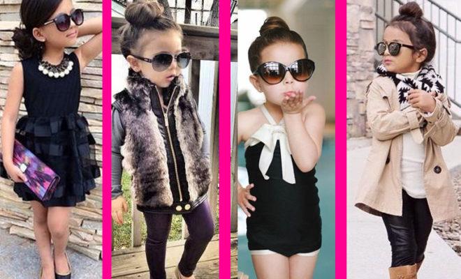 Cómo hacer que tu hija se vea como toda una fashionista.