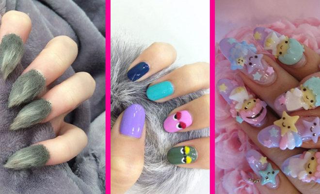 Los manicures más extraños que hayas visto, ¿los usarías?