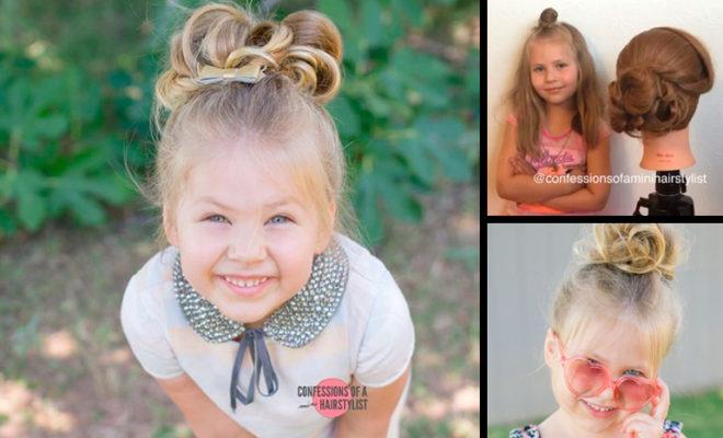 La estilista más joven del mundo tiene sólo 5 años y muchísimo talento