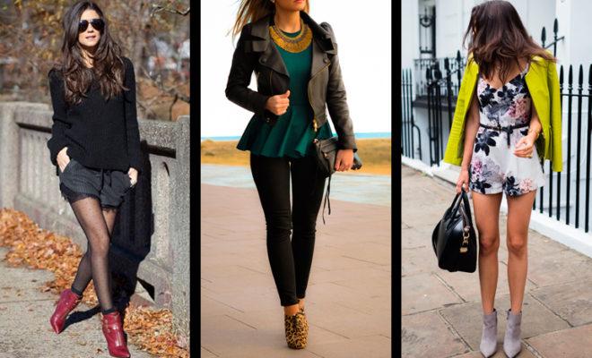 Los 5 mejores looks para combinar con tus booties