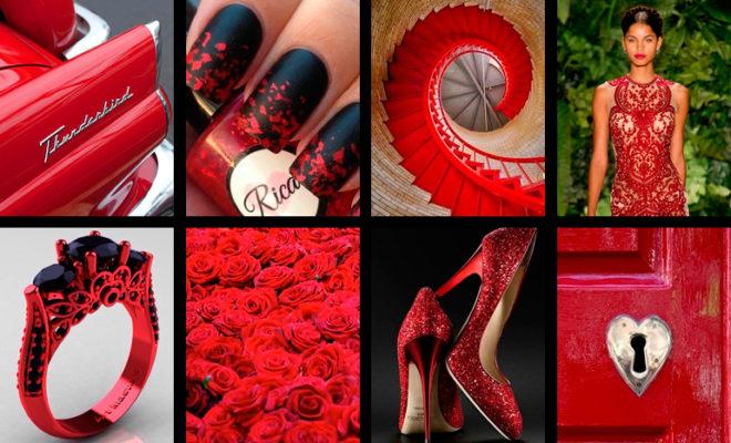 Haz tu guardarropa más sexy con un toque de rojo