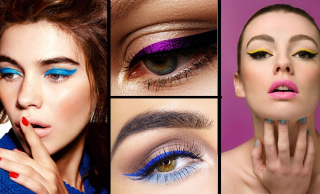 Eye liner de color, ¿te atreves a usarlo?