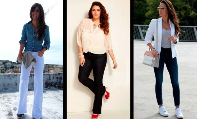 ¿Qué tipo de jeans le queda mejor a tu cuerpo?