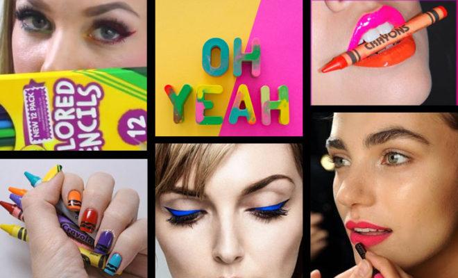Si no sabes cómo maquillarte, ¡el maquillaje crayola es para ti!