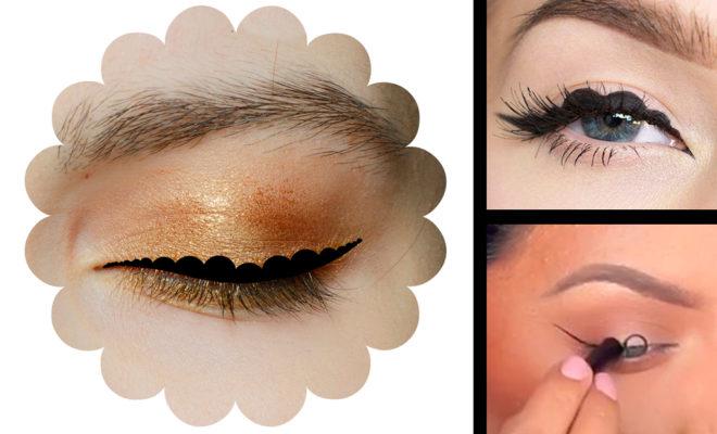 Lo nuevo en maquillaje:  Bubble eyeliner