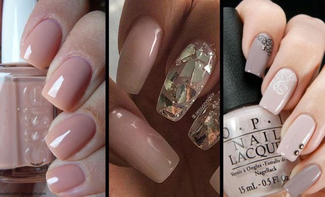 ¡¡Manicure nude para todas!! Escoge el perfecto tono de nude para tu tono de piel.