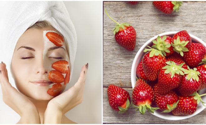 DIY Exfoliante de fresas para lucir una piel hermosa