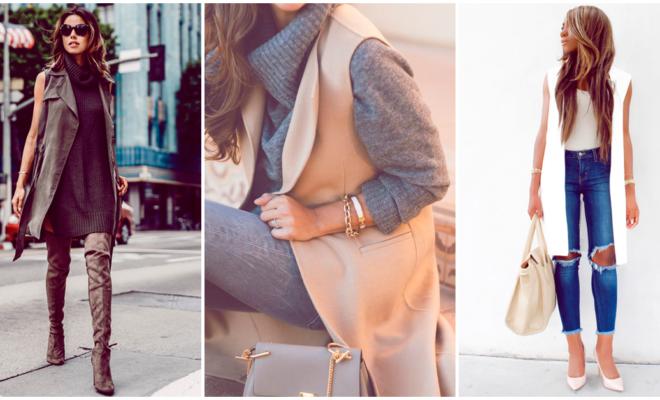 Elige el mejor chaleco para estar a la moda esta temporada