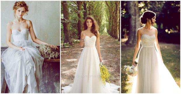 vestido de novia natural