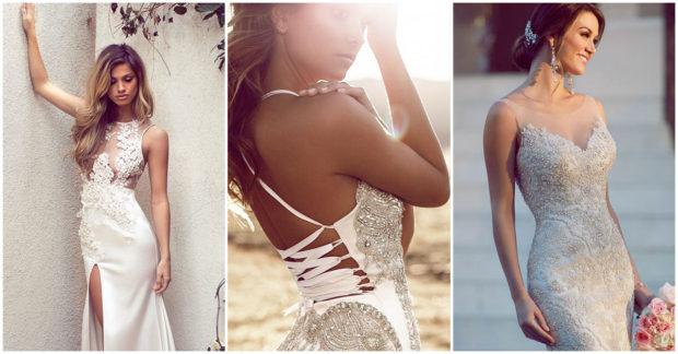 vestido de novia seducctora