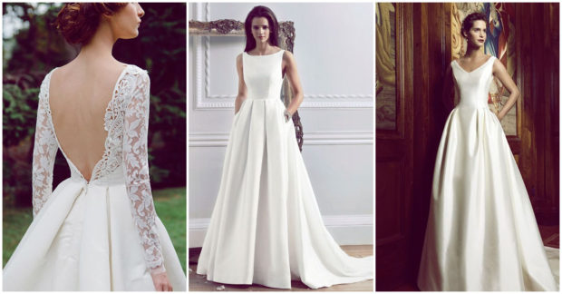 vestido de novia tradicional