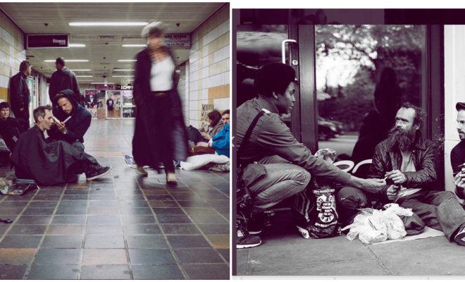 Estas fotografías te muestran las dificultades de vivir en la calle