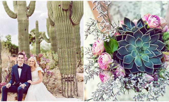 10 razones para cambiar las flores por cactus en tu boda
