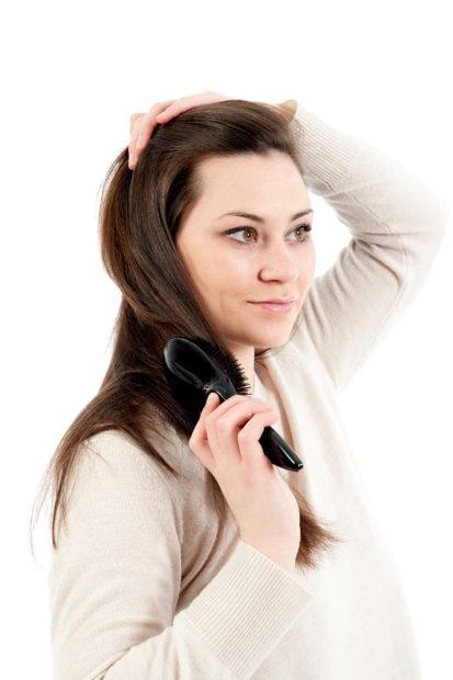 Haare Stylen und pflegen