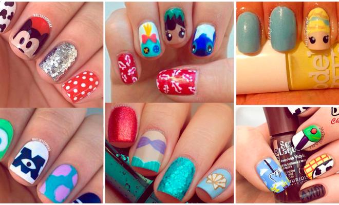 Diseños de uñas de tus películas favoritas de Disney